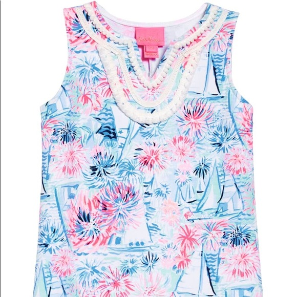 Lilly Pulitzer Other - NWT! ⛵️ Lilly Pulitzer Girl's Dress sz. L